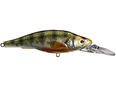 LIVETARGET Yellow Perch Floating Jerkbait