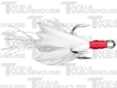 Lucky Craft Tinsel Feathered Treble Hooks