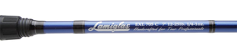 Lamiglas Excel Bass II Series Casting Rods