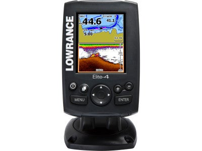 Lowrance Elite-4 Color Fishfinder/Chartplotter