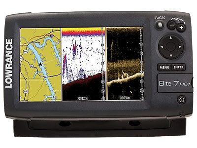 Lowrance Elite-7 HDI Color Fishfinder/GPS Chartplotter