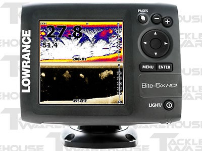 Lowrance Elite-5x HDI Color Fishfinder