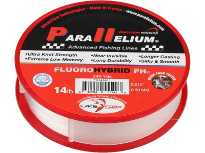 Lake Fork FluoroHybrid FH Fishing Line