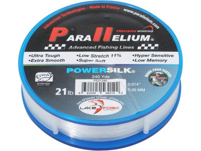 Lake Fork Parallelium Powersilk Copolymer Fishing Line