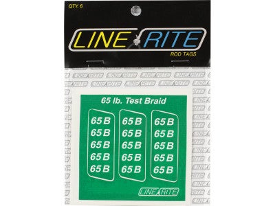 Line Rite Rod Tags Braid