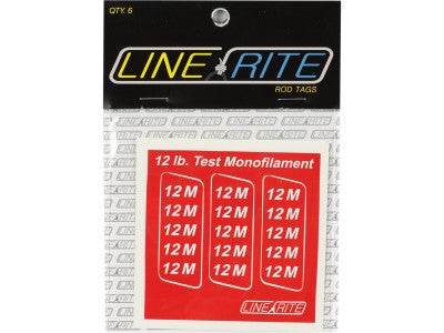 Line Rite Rod Tags Monofilament