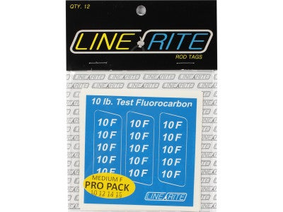 Line Rite Rod Tags Pro Pack