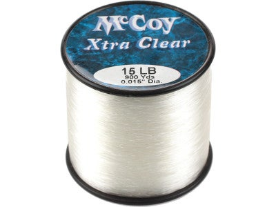 McCoy Xtra Clear Co-Polymer Line