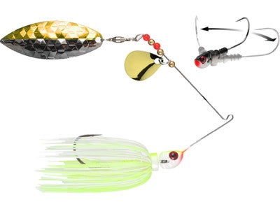 Megastrike StrikeBack Colorado Willow Spinnerbait