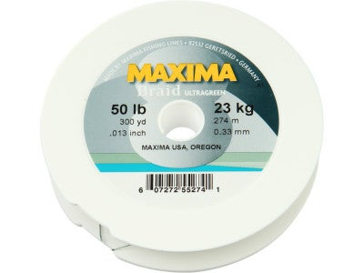 Maxima Ultragreen Braided Line