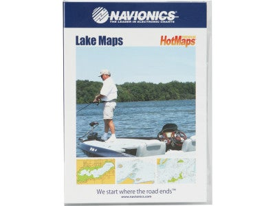Navionics HotMaps Premium Lake Maps