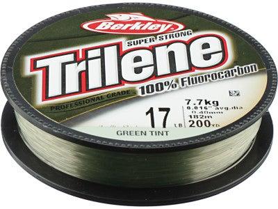 Berkley Trilene 100% Fluorocarbon Line Green