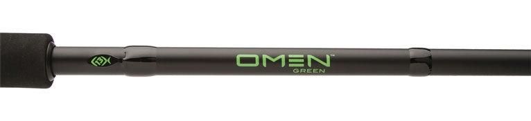 13 Fishing Omen Green Casting Rods