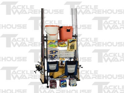 Organized Fishing Tackle Trolley