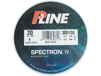 P-Line Spectrex Braided Line Green