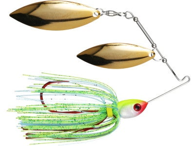 Pepper Custom Baits Bleeding Double Willow Spinnerbaits