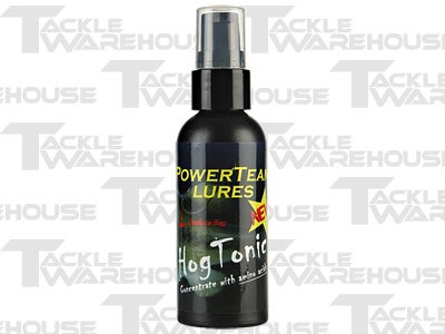 Power Team Lures Hog Tonic Fish Attractant 2oz.