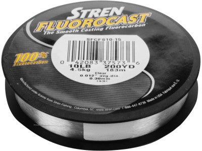Stren Fluorocast 100% Fluorocarbon Line 200yds