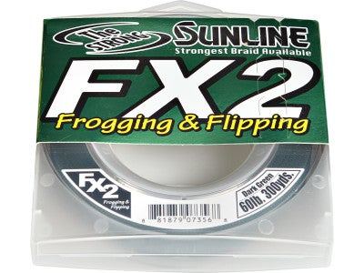 Sunline FX2 Braided Line Dark Green