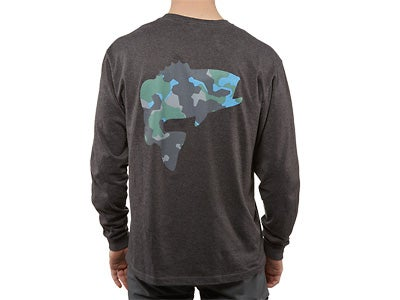 Simms Geo Bass Long Sleeve T-Shirt