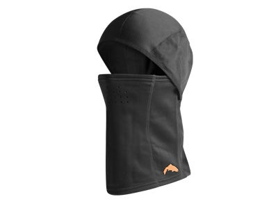 Simms Stretch Balaclava Hood Black