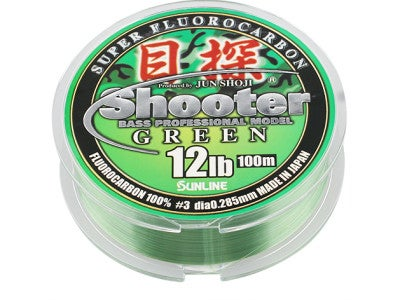 Sunline Shooter Metan Green Fluorocarbon