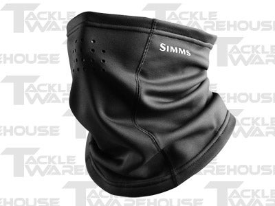 Simms Stretch Neck Gaiter Black