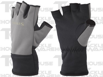 Simms Windstopper Half Finger Glove