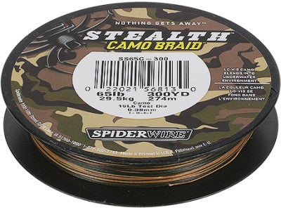Spiderwire Stealth Camo Braid
