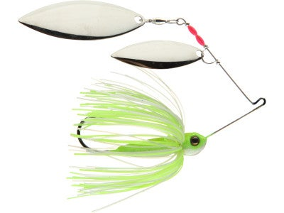 TrendSetter Double Willow Silver Blade Spinnerbaits