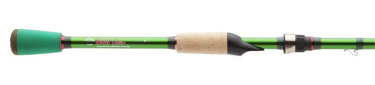 Carrot Stix Wild Wild Green Spinning Rods