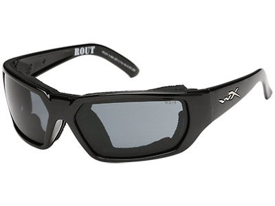 WileyX Rout Sunglass Gloss Black Frame