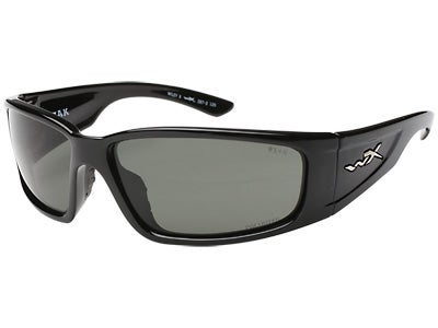 WileyX Zak Sunglasses Gloss Black Frame