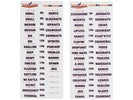 Tackle Box Labels