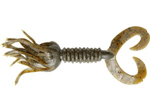 Big Bite Baits Double Tail Skirted Grub 10pk