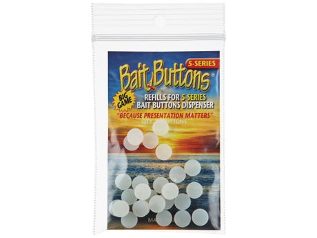 Big Game Bait Button Refill Bag 25pk