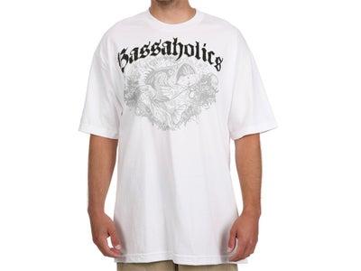 Bassaholics Bass Splash Short Sleeve T-Shirt