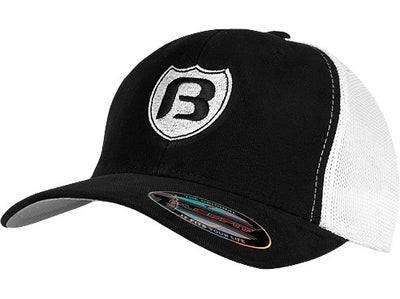 Bassaholics Flex Fit Shield Trucker Hat