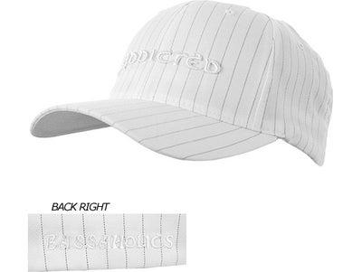 Bassaholics Flex Fit Pin Stripe Addicted Puff Hat