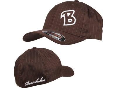 Bassaholics Flex Fit Pin Stripe B-Puff Hat