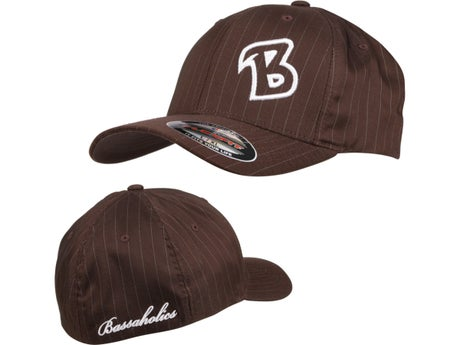 Bassaholics Flex Fit Pin Stripe B-Puff Hat