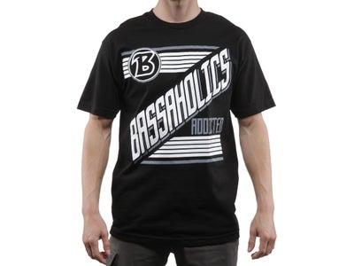 Bassaholics Side Swipe Short Sleeve T-Shirt