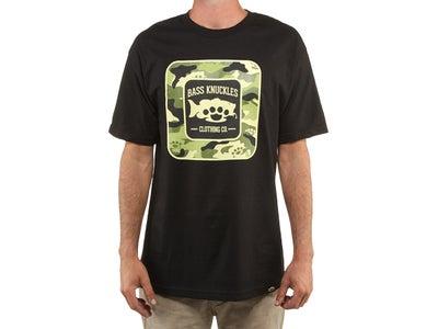 Bass Knuckles Bass Camo Short Sleeve T-Shirt