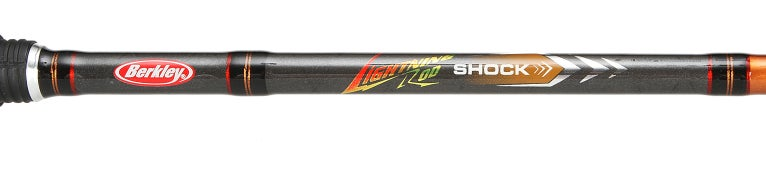Berkley Lightning Shock Spinning Rods