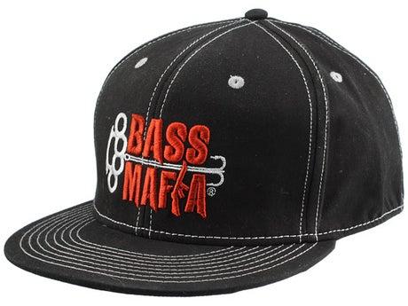 Bass Mafia Flatbill Cap Black