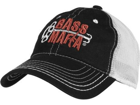 Bass Mafia Bait Mesh Cap Black White 6e4747776d4