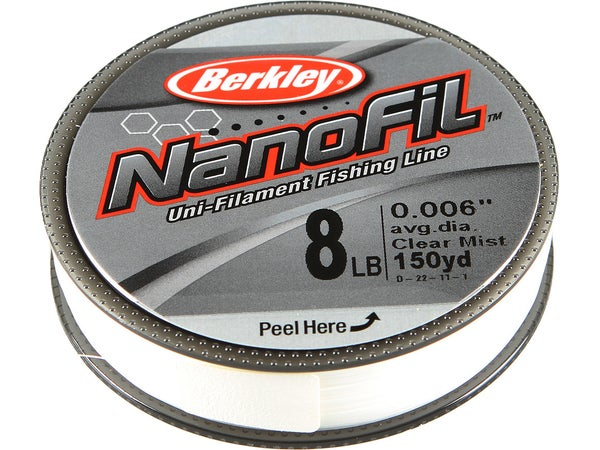 Berkley Nanofil Line Clear Mist - Tackle Warehouse