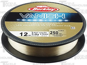 Berkley Vanish Transition Fluorocarbon Clear Gold