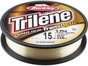 Berkley Trilene Transoptic Clear Gold