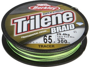 Berkley Trilene Professional Grade Tracer Braid